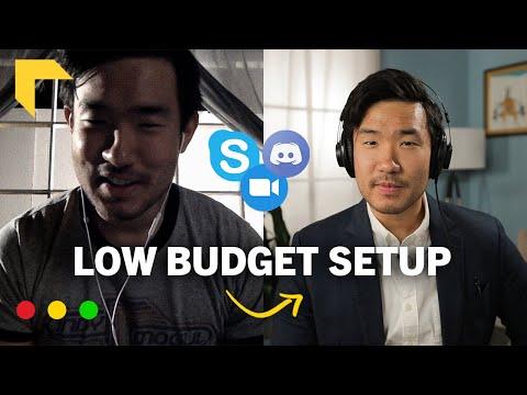 How to Make Your Webcam Footage Look Better Filmmaker Explains