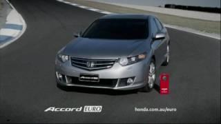 Honda Accord Euro TV Ad - Wheels Car of the Year (Australia) 2009