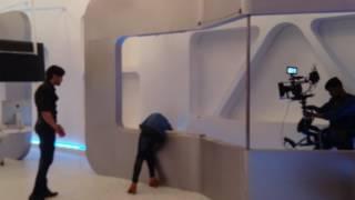 Wajah tum Ho movie glass break (female stunt women)