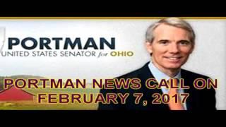 SENATOR PORTMAN CALL IN 02-07-17
