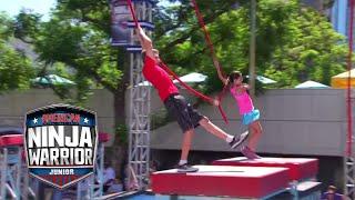 American Ninja Warrior Junior Qualifier EP 9 FULL OPENING CLIP | Universal Kids
