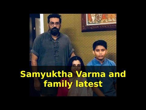 Samyuktha Varma and family latest   സംയുക്ത വർമ്മ, നടികളിലിലെ മമ്മൂട്ടി