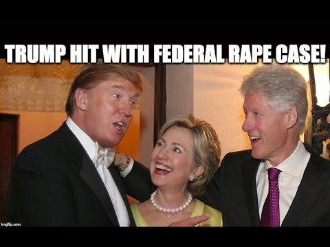 The Reason The Media Won't Discuss Trump's Rape Lawsuit
