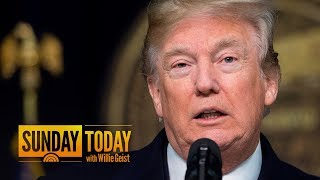 President Trump Is 'Stoking The Fire' About His Mental Stability, Chuck Todd Says | Sunday TODAY
