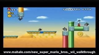 New Super Mario Bros. Wii Walkthrough - World 9-4
