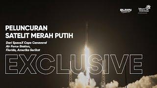[EXCLUSIVE] Peluncuran Satelit Merah Putih Telkom Indonesia