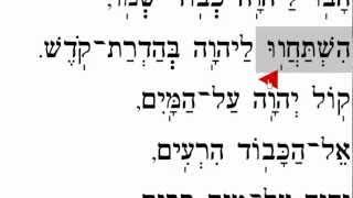 Mizmor L'David Havu LAdonai  מזמור לדוד הבו ליהוה