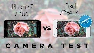 Google Pixel XL vs iPhone 7 Plus Camera Test Comparison