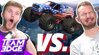 MONSTER TRUCK STUNT RACE CHALLENGE! | GTA 5