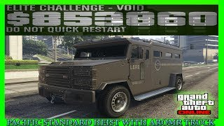 GTA 5 Pacific Standard Heist Glitch With Armored Truck After Patch 1.40 (Host Still Working)