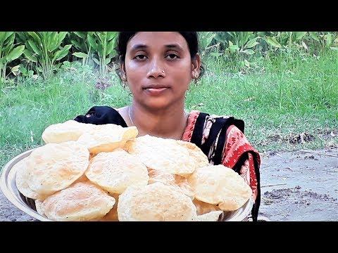 Xxx Mp4 Breakfast Recipe Bangali Luchi Aloor Dum Recipes Village Style Cooking By Street Village Food 3gp Sex