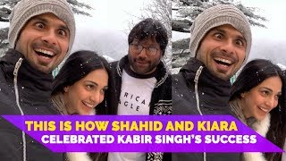 Shahid Kapoor and Kiara Advani's Behind The Scene Pictures From Kabir Singh