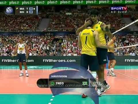 Xxx Mp4 Brazil Vs Russia FIVB Volleyball World League Final 3gp Sex