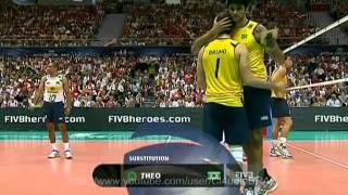 Brazil vs Russia - FIVB Volleyball World League Final