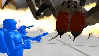 FLAMETHROWERS vs GIANT SPIDERS - Home Wars - Part 1 | Pungence