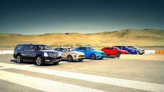 Forza 6: World's Greatest Drag Race! SUV (Urus, BMW X6, Macan, RANGE ROVER & More!)