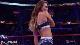Sexy Emma Returns / Entrance WWE Raw