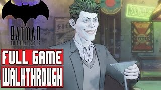 BATMAN TELLTALE EPISODE 5 Gameplay Walkthrough Part 1 FULL GAME (1080p) - No Commentary