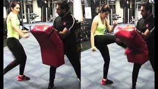 Raashi Khanna Hot Kick Boxing Video