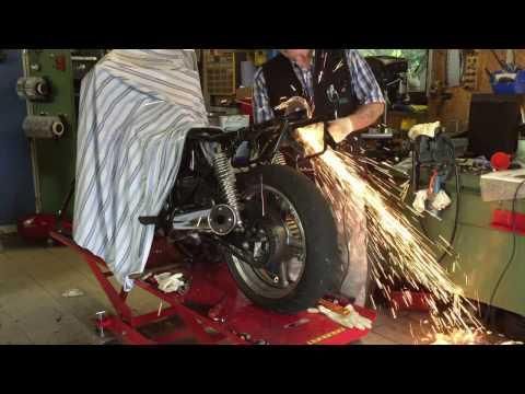 Honda CB750 Cafe Racer Nighthawk 2016 - Film Custom Caferacer