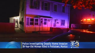 Police: Woman Shot, Killed Inside Home During Apparent Robbery In Pottstown