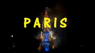 NEW YEARS 2015 ROMANTIC FIREWORKS | PARIS