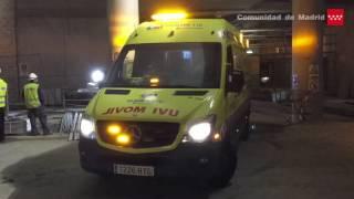 11.05.17. Accidente laboral obras Estadio Metropolitano. Un herido grave.