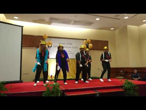 English Dance Performance - HSBC GTRF Department Dinner 2016