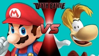 CCX - Mario VS Rayman! (Nintendo VS Ubisoft)