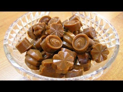Как сделать конфеты из сахара на дому