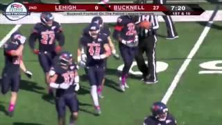 Bucknell Football vs. Lehigh Highlights