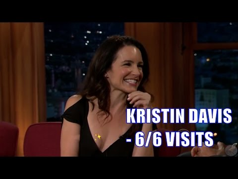 Kristin Davis More Beautiful More Attractive Funnier Than You Think 6 6 Visits In Chro. Order