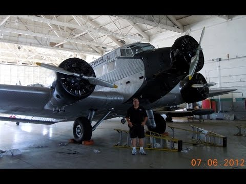 German Junkers Ju-52/3m (HB-HOT) Rimowa JU-Air at Van Nuys Airport, California 2012