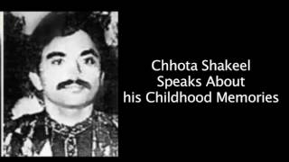 Chhota Shakeel Talks About His Personal Life and How He Joined D Company