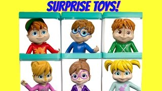 Alvin and the Chipmunks Have Toy Surprise Boxes at a Rock Concert