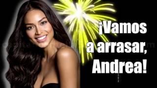 Andrea Tovar - Despedida de su Pueblo en EL DORADO