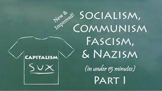 Understand Socialism, Communism, Fascism, & Nazism in 15 Minutes (Part I)