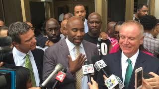 Mateen Cleaves speaks after not guilty verdict