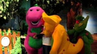 Talking to Barney at Universal