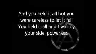 Linkin Park - Powerless LYRICS