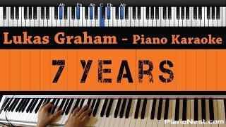 Lukas Graham - 7 Years - Piano Karaoke / Sing Along / Cover with Lyrics
