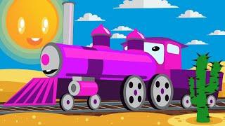 NEW Cartoon 🌴 Little train, big adventure Full Episode in HD
