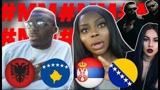 REACTION | ALBANIA vs SERBIA vs BOSNIA Rap/Hip Hop/RnB