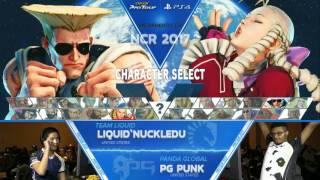 SFV: Liquid'NuckleDu vs PG Punk - NCR 2017 Winners Finals - CPT 2017
