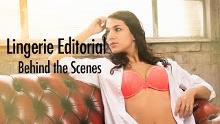 Anett Malomhegyi Lingerie Editorial Photoshoot - Behind the Scenes with Gareth Dix (GoPro Timelapse)