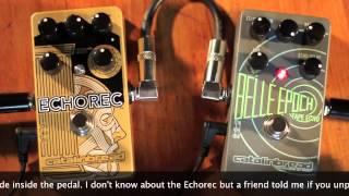 Catalinbread Echorec VS Belle Epoch (Easter Egg!)