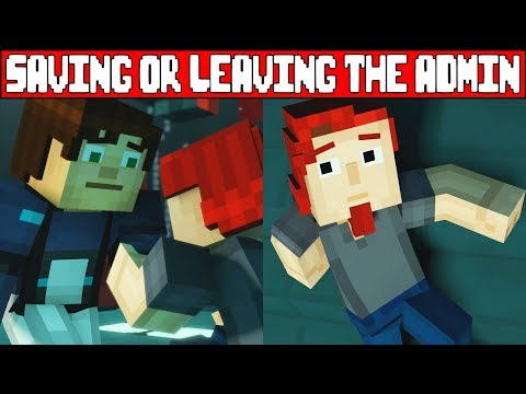 Xxx Mp4 Saving Or Abandoning The AdminRomeo MINECRAFT STORY MODE SEASON 2 EPISODE 5 Season Finale 3gp Sex