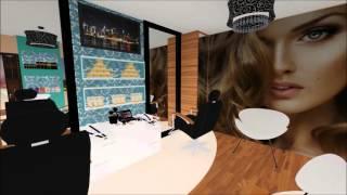 Projeto Design de Interiores - Salão de Beleza