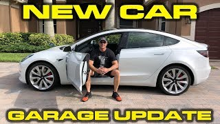 GARAGE UPDATE - Tesla Model 3 Dual Motor Performance Review And Testing