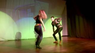 Rui Teixeira e Catarina Braga- ta fixe kizomba festival 2014